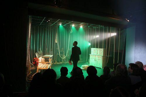 Сегодня в Норильске в Заполярном театре драмы дают «Безумца».