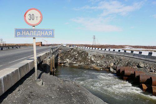 Ремонт моста через Наледную пока откладывается. Зато мост возле ТЭЦ-1 введут в строй уже этой осенью.