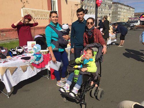 «Подарошная» и норильские мастерицы помогли шестилетней норильчанке Милене Балобановой.