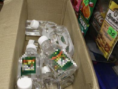 В Норильске выявили точку продажи запрещенного непищевого алкоголя.