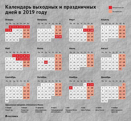 Календарь праздников. Минтруда определило, сколько будем отдыхать в новом году.