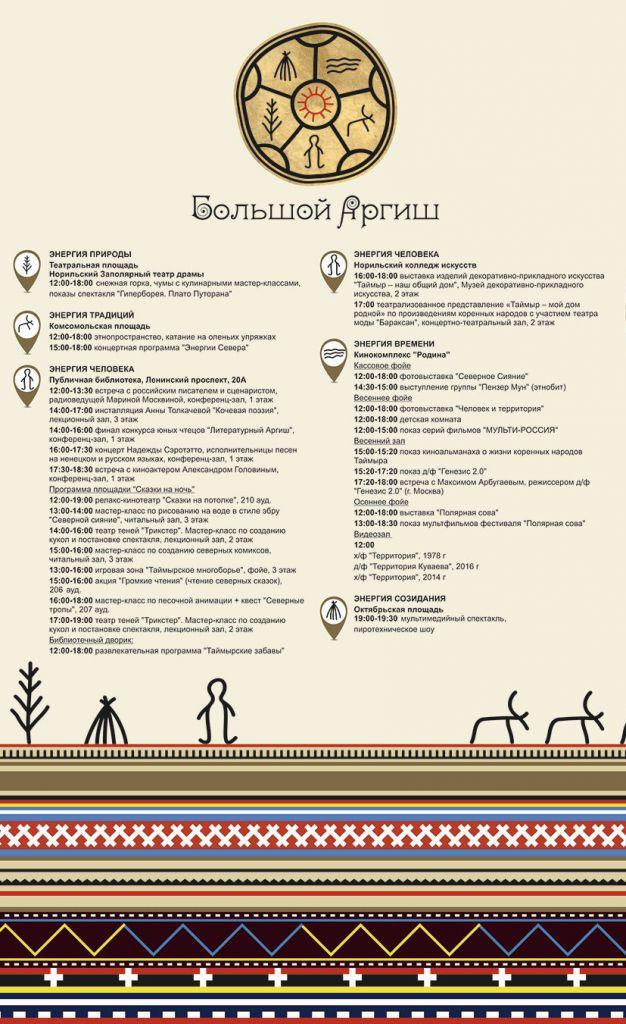 Энергии природы, традиций и человека сольются, чтобы в Норильск пришел праздник – Большой Аргиш