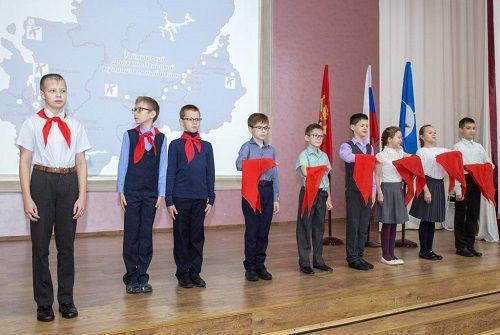 38 юных северян посвятят в пионеры.