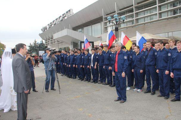 Стройотряды студентов СКГМИ отправились в Норильск.
