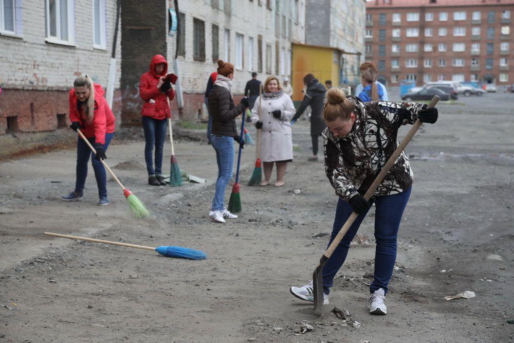 29 июня в Норильске пройдёт общегородской субботник.