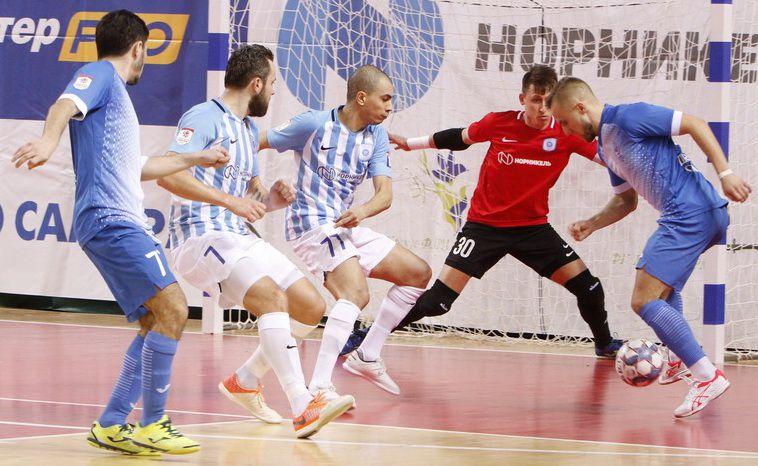 МФК «Норильский никель» уступил во втором матче 10-го тура против «Динамо-Самары».