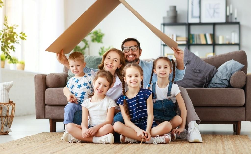 Многодетным семьям выделят средства на погашение ипотеки