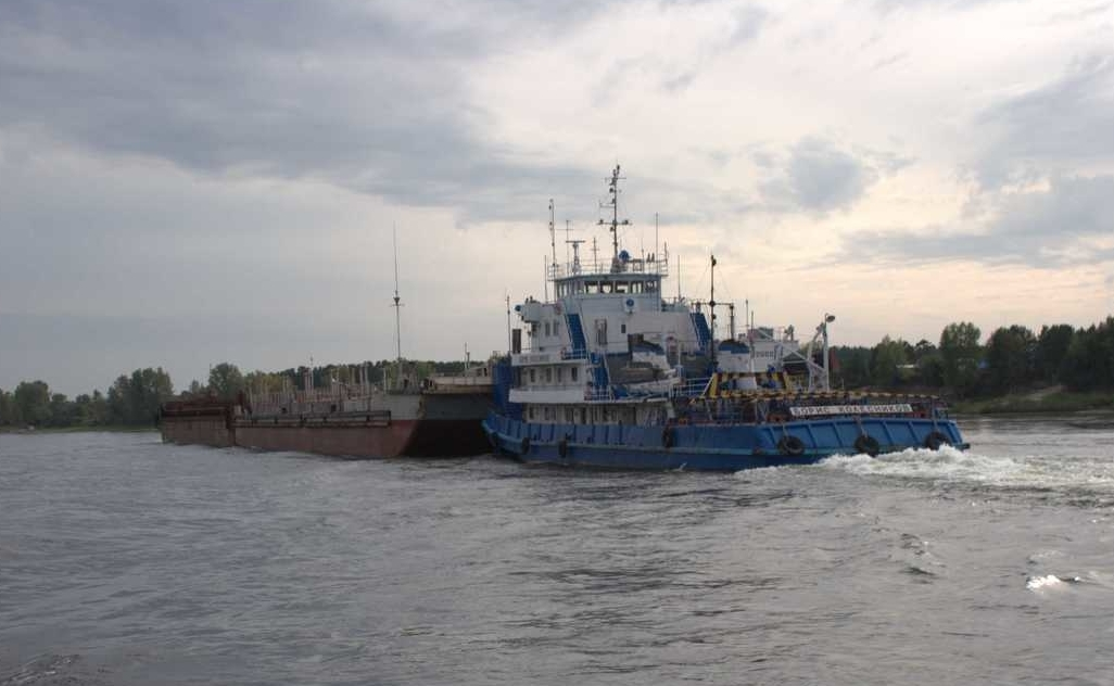 Енисейское пароходство начинает отправку первого каравана навигации-2020