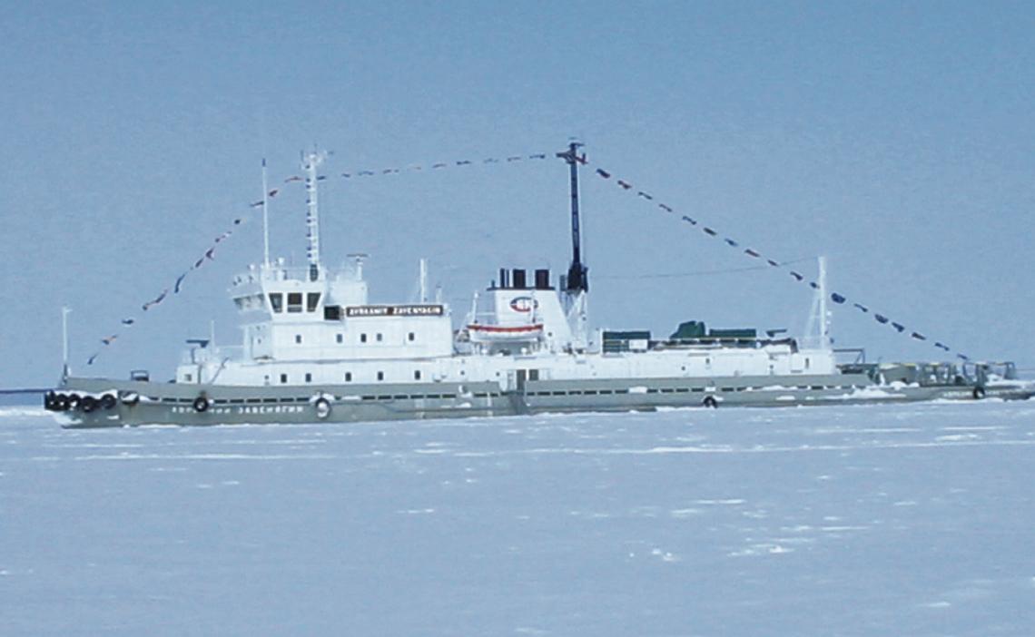 """Ледовый поход. Экс-капитан Мартынов - о былом, о Севере, о """"Норникеле"""""""