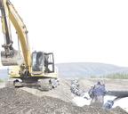 Строительство хвостохранилища ТОФ