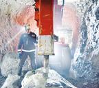 Новая буровая установка на руднике «Заполярный»