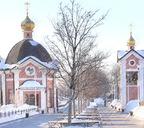 Часовня Серафима Саровского в Щёлково