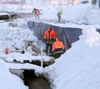 Строительство моста по улице Октябрьской идёт без отставаний от графика