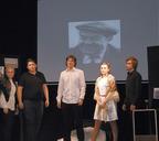 Участники студенческого спектакля «Изосим» в постановке Андрея Слизкова, 2017 год