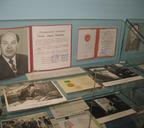 Фрагмент экспозиции музея никелевого завода, 2013 год