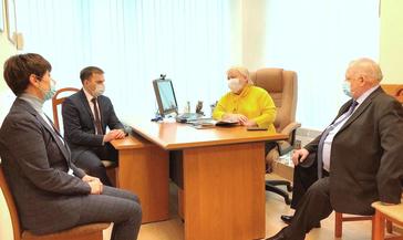 В Красноярске прошла встреча Главы Норильска с депутатами Законодательного Собрания Красноярского края от Норильска