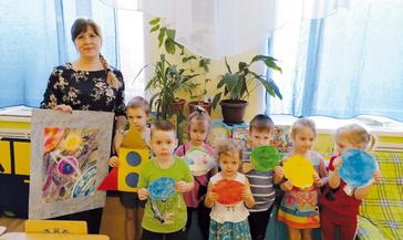 Воспитанники группы «Радуга» детсада «Василёк» стали юными космонавтами