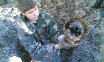 На «Комсомольском» открыта фотовыставка «Эхо былой войны»