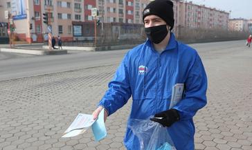 В Норильске проходит акция #Стопкоронавирус