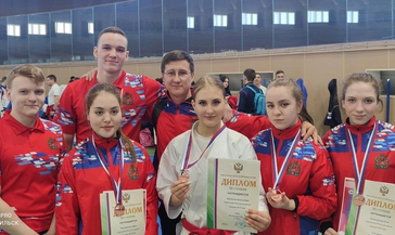 Норильские каратисты завоевали бронзовые медали на первенстве страны среди молодёжи