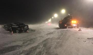 Выясняются обстоятельства ДТП с пострадавшими на автодороге Норильск - Талнах