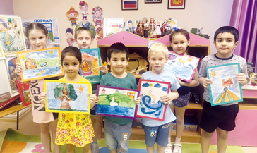 День памяти поэта Александра Пушкина отметили в детском саду «Радость»