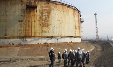 МЧС нашло решение по способам ликвидации утечки нефтепродуктов на ТЭЦ-3