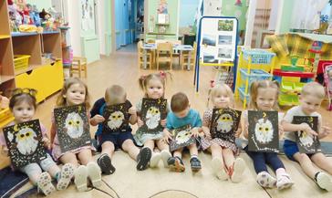 Малыши из группы «Колокольчики» детсада «Ладушки» познакомились с животным миром Крайнего Севера
