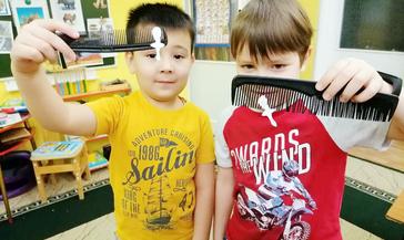 День детских изобретений отметили и в детском садике «Оленёнок»
