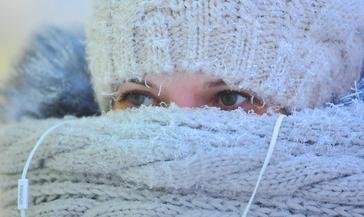 В Норильске сохраняется штормовое предупреждение по сильному морозу