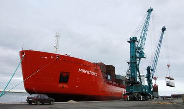 Для судна «Мончегорск» началось изготовление запасных деталей
