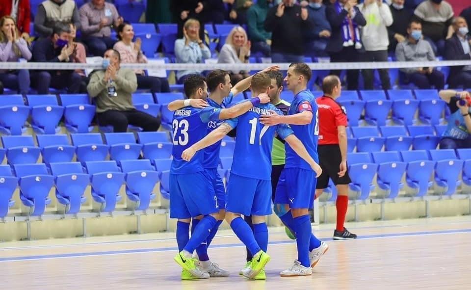 Мини-футбольный клуб «Норильский никель» набрал максимум очков в двух играх десятого тура Париматч-чемпионата России